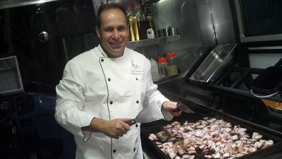 Ex-Polegar Ricardo Costa é preso por dívida em pensão alimentícia (Foto: Arquivo Pessoal/ Ricardo Costa)