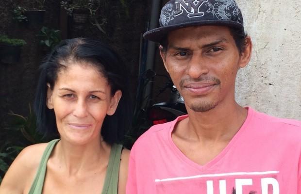 Mestre de obras voltou para casa depois de quase três meses em hospitais (Foto: Cassiano Rolim/TV Anhanguera)