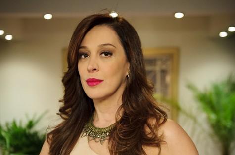 Lívia começará a dar sinais de desespero por causa de acusações de Lucimar e Théo (Foto: TV Globo/Alex Carvalho )