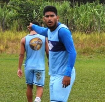Diego, zagueiro Atlético-AC (Foto: Duaine Rodrigues)