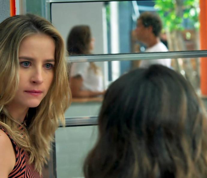 Bárbara perde a cabeça e acaba demitindo Nanda! (Foto: TV Globo)