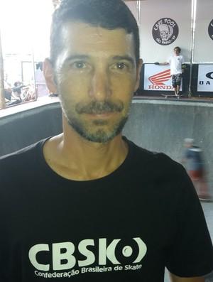 Ed Scander, vice-presidente da CBSK (Foto: Rafael Valesi)
