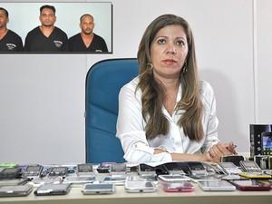 Delegada Ana Luíza Nogueira (Foto: Polícia Civil/Emerson Lima)