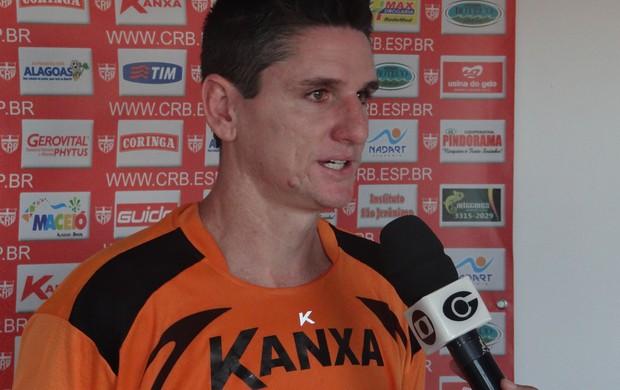 Marcinho Guerreiro, concede entrevista (Foto: Denison Roma / Globoesporte.com)