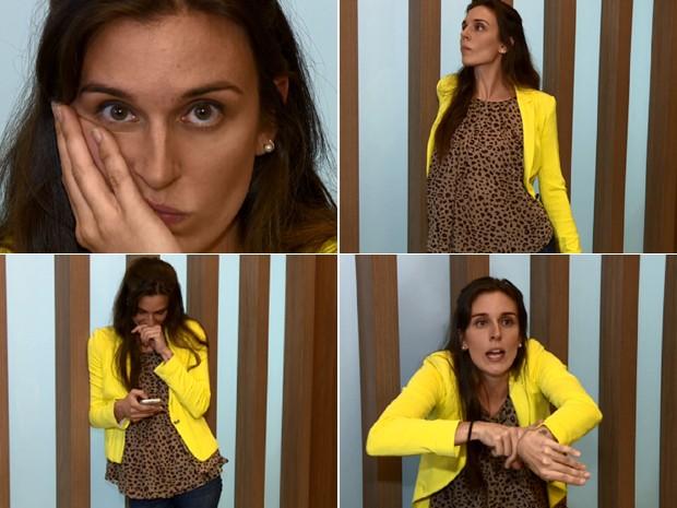 É necessário cuidado com olhares e expressões excessivas dentro das empresas (Foto: Arte/Reprodução EPTV)