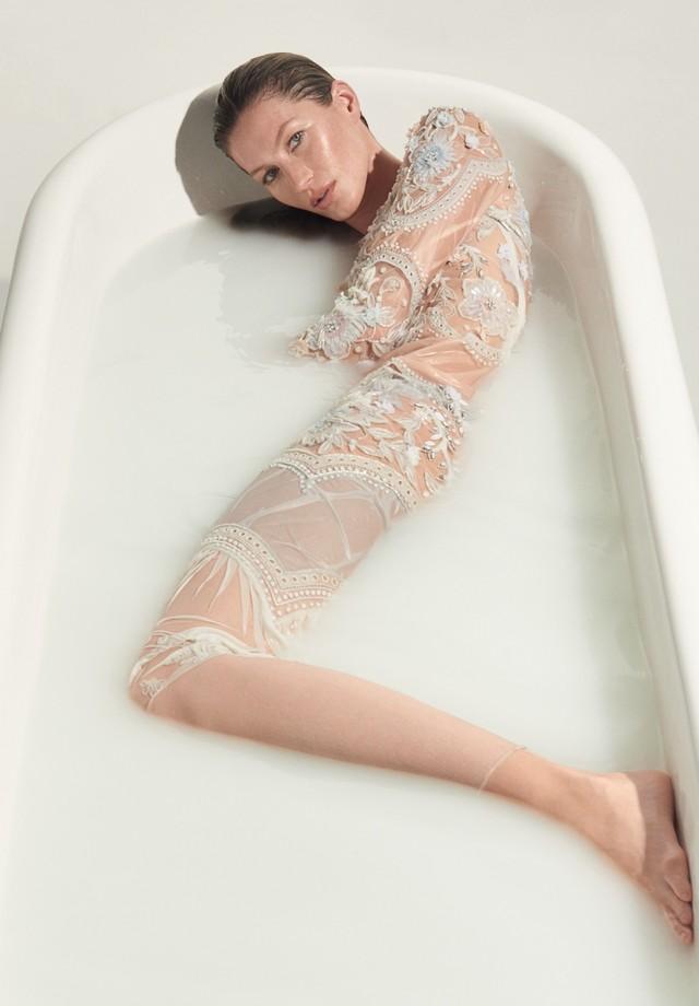 Gisele Bündchen para a Vogue Brasil (Foto: Arquivo Vogue)