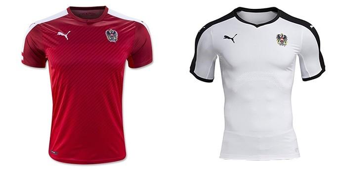 Camisas Eurocopa austria