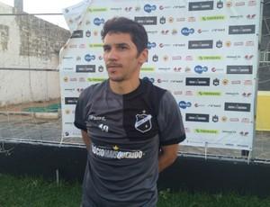 Lúcio Flávio - meia do ABC (Foto: Carlos Cruz/GloboEsporte.com)