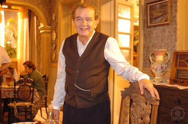 Umberto Magnani em Alma Gêmea (Foto: Globo)