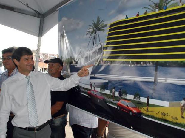 Obra já foi divulgada pela prefeitura e pode ser embargada (Foto: Divulgação/Prefeitura de Campina Grande)