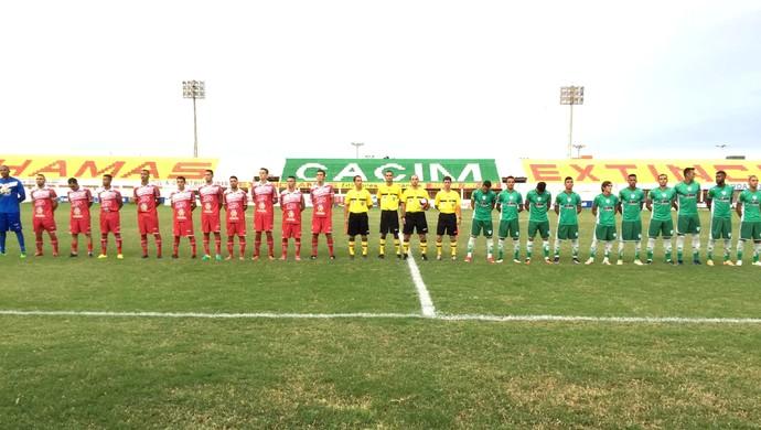 Potiguar de Mossoró x Alecrim, no Estádio Nogueirão (Foto: Divulgação/FNF)
