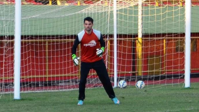 Roger Kath, goleiro Rio Branco-AC (Foto: Duaine Rodrigues)