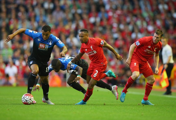 Liverpool x Bournemouth Campeonato Inglês 2015/2016 (Foto: Getty Images)
