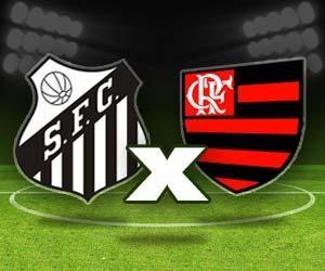 Santos x Flamengo (Foto: Arte TV Liberal)