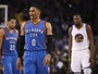 """Fora da lista de titulares, Westbrook desdenha: """"Não jogo para ser All-Star"""""""