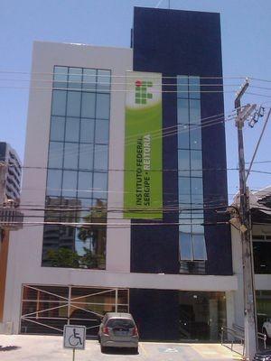 Novo prédio da Reitoria do IFS (Foto: Divulgação)