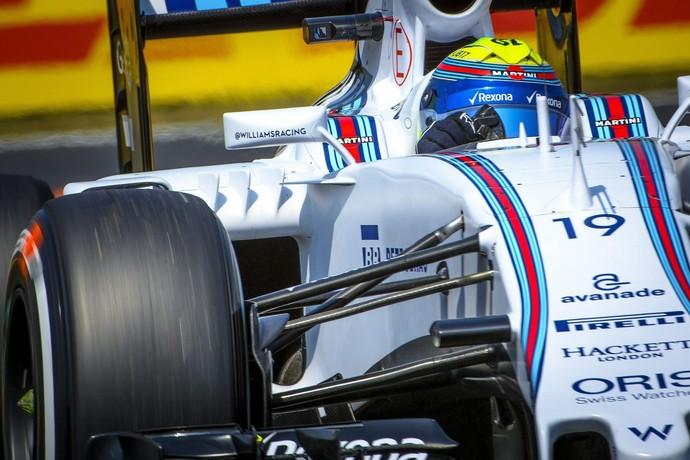 Felipe Massa nos treinos livres para o GP da Hungria (Foto: Getty Images)
