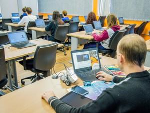 Laboratório de Informática Feevale (Foto: Ana Knevitz/Feevale)