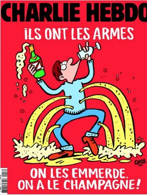 'Eles têm as armas… Nós temos o champagne'