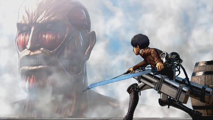 Attack on Titan coloca o jogador no controle dos heróis do anime (Foto: Divulgação/Tecmo KOEI)