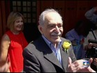 Corpo de Gabriel García Márquez vai ser cremado no México
