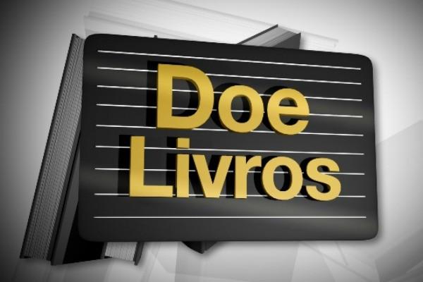 Doação de livros (Foto: Divulgação/RBS TV)