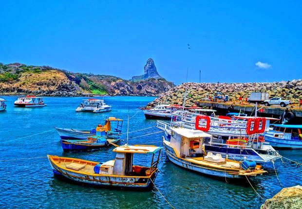 Férias - descanso - viagem - turismo - Porto Santo Antônio, Fernando de Noronha (Foto: Thinkstock)