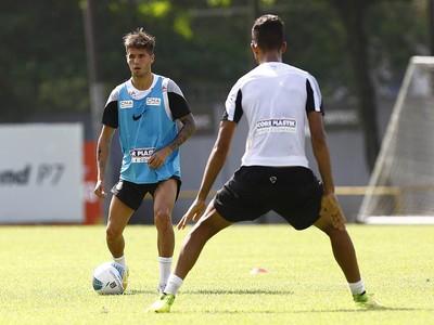 Patito Rodriguez, atacante do Santos (Foto: Ricardo Saibun / Divulgação Santos FC)
