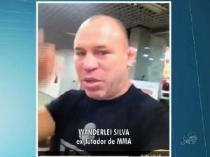 """""""Maiores batalhas são dadas aos maiores guerreiros"""", diz Wanderley Silva em apoio à campanha #ForçaÍtalo (Foto: TV Verdes Mares/Reprodução)"""
