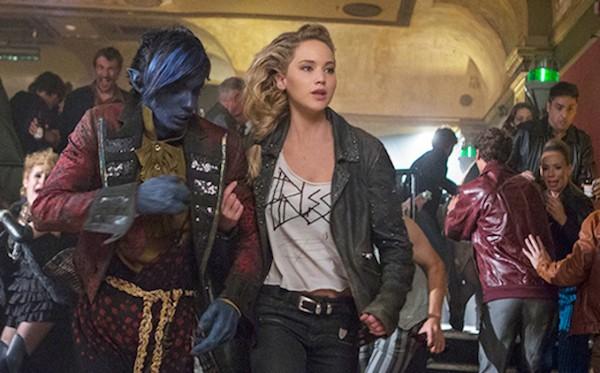 Jennifer Lawrence em cena de X-Men: Apocalipse (2016) (Foto: Divulgação)
