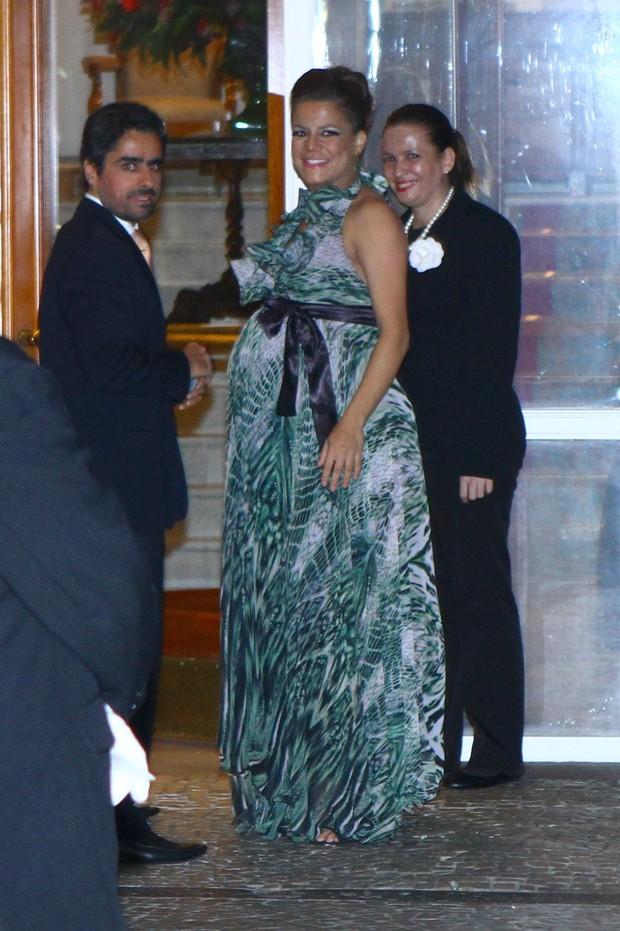Nivea Stelmann no casamento de Rayanne Morais e Latino (Foto: Raphael Mesquita / FotoRioNews)