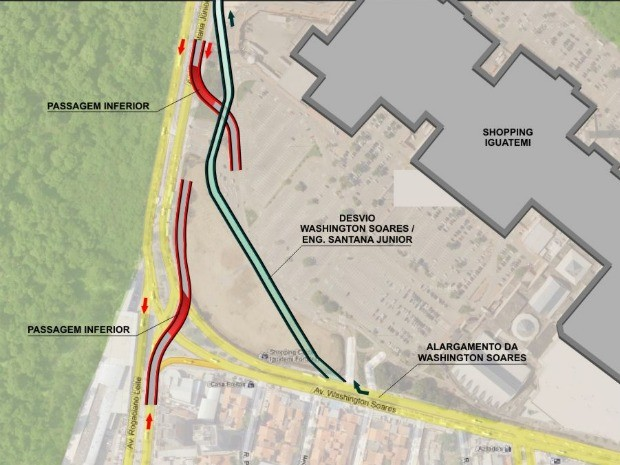 Túneis custarão R$ 30 milhões, dos quais R$ 5 milhões são de investimento privado. (Foto: DER/Reprodução)