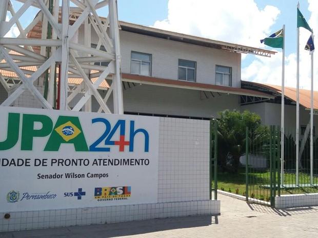 UPA de Barra de Jangada, em Jaboatão dos Guararapes (Foto: Marlon Costa Lisboa/Pernambuco Press)