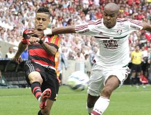 Everton, Fluminense X Flamengo