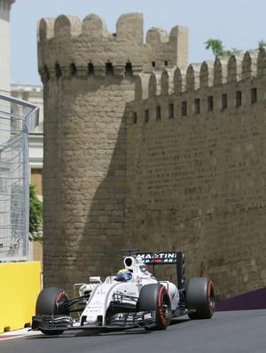 Felipe Massa faz 5º tempo no treino classificatório para o GP da Europa, em Baku