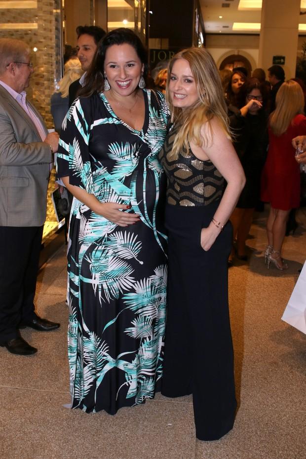 Mariana Belém e Luciana Vendramini (Foto: Thiago Duran/AgNews)