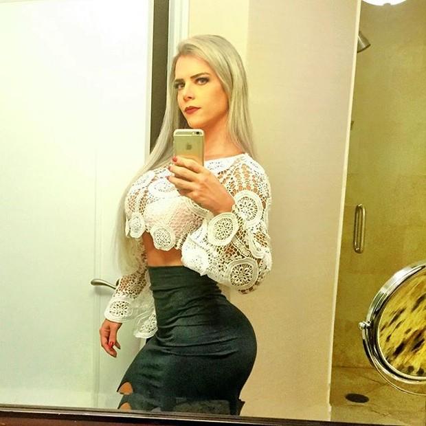 Denise Rocha em Miami, nos Estados Unidos (Foto: Instagram/ Reprodução)