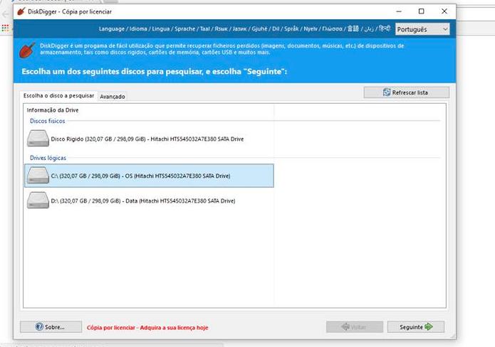 Como recuperar arquivos com o DiskDigger (Foto: Reprodução/Felipe Vinha)