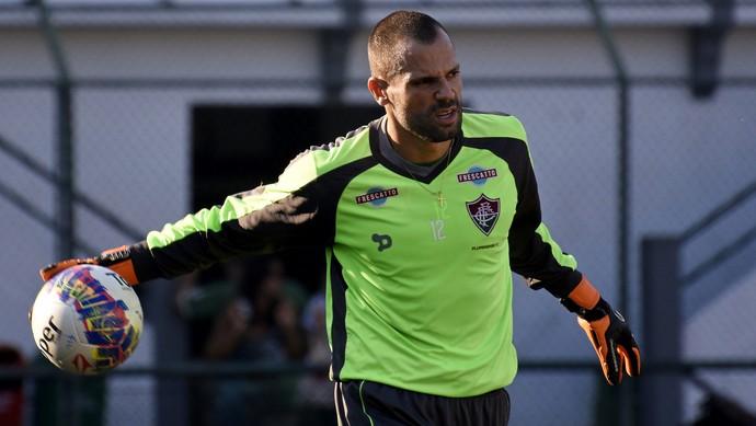 diego cavalieri fluminense laranjeiras (Foto: Mailson Santana / FluminenseFC)