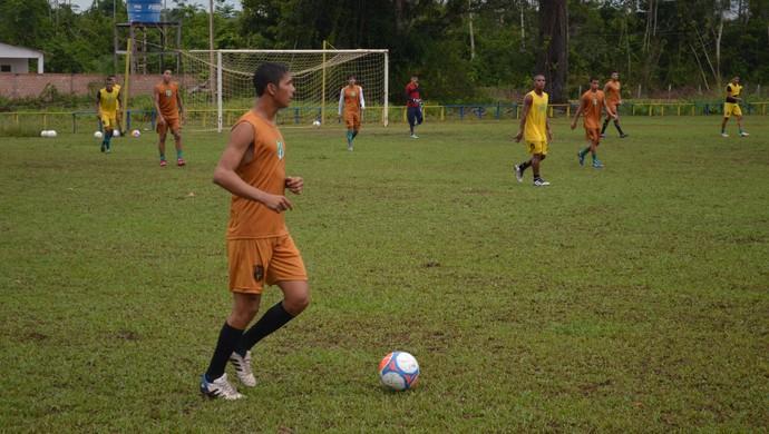 Treino Tapajós (Foto: Gustavo Campos/GloboEsporte.com)