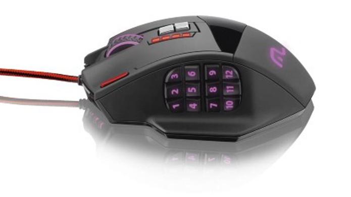 Mouse possui 12 botões programáveis para games (Foto: Divulgação/Multilaser)