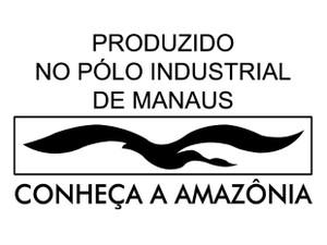 Selo é encontrados nos produtos feitos em Manaus (Foto: Reprodução)