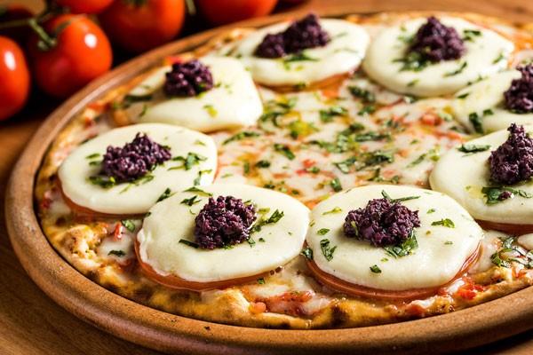 Pizza caprese (Foto: Filico)