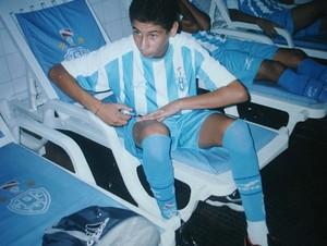 Na época que jogava pelo Paysandu (Foto: Arquivo Pessoal)
