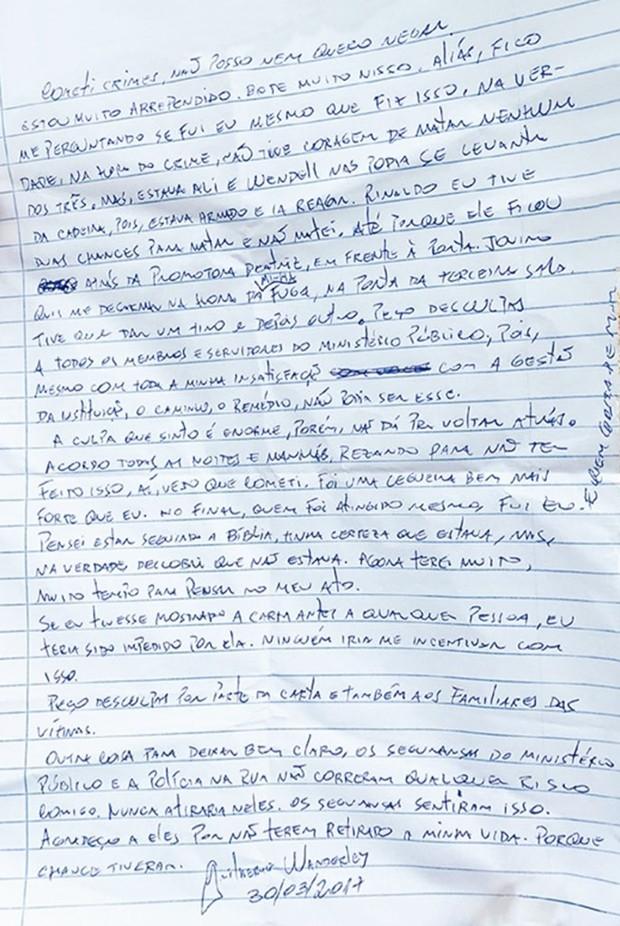Guilherme Wanderley relatou o dia do ataque ao MPRN  (Foto: Reprodução/Tribuna do Norte)