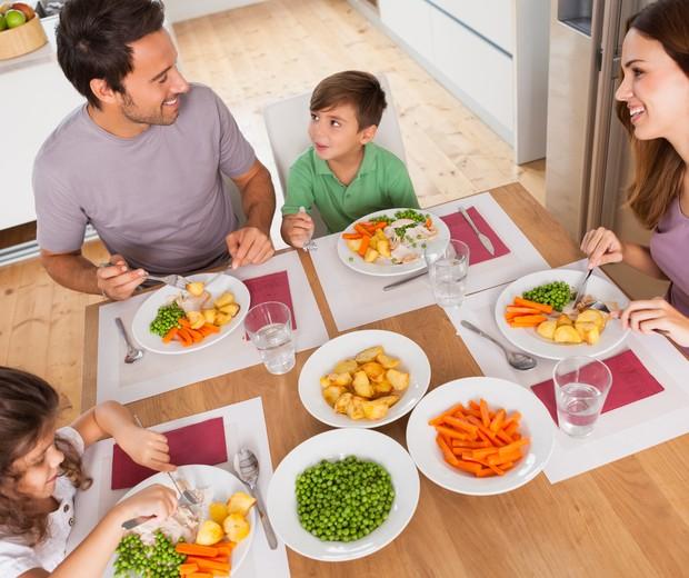 refeição; família (Foto: Thinkstock])