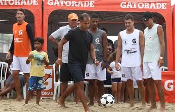 Craques do Futevôlei: evento reúne ex-atletas e celebridades no Rio