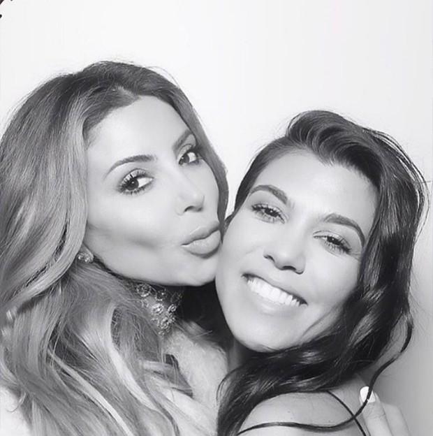 Larsa Pippen e Kourtney Kardashian (Foto: Reprodução/ Instagram)
