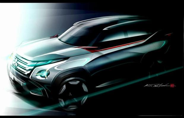Mitsubishi GC-PHEV Concept (Foto: Divulgação)