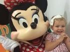 Sheila Mello posta foto fofa da filha: 'Nada como o sorriso de um filho'